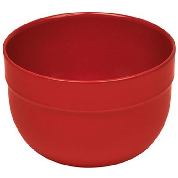 Ensaladera Color Rojo De 17.5 Cm