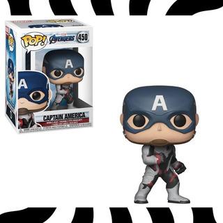 Funko Pop! Capitan America - Pop! Avengers #450 Kemuñecos