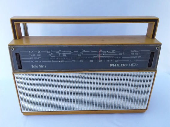 Antigo Radio Portátil Philco Ford (cod.4842)