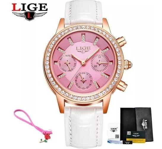 Relógio Lige Quartz Preço Promocional