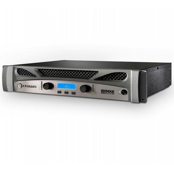 Amplificador Potência Crown Xti6002 Xti 6002 6000 Watts Rms