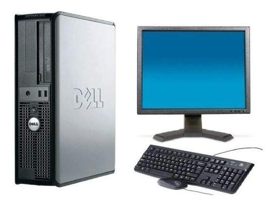 Computador Completo Dell Optiplex 2gb Ram - Monitor 17