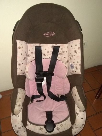 Silla Para Carro De Bebe Evenflo Y Pañalera Carters Garage