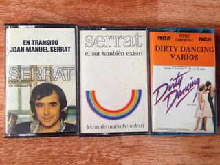 3 Cassettes Originales De Música Variada Diferentes Géneros