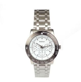 Reloj Dufour Hombre / Malla Y Cuadrante De Metal Mod.1017