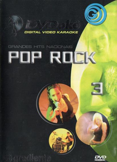 Dvd Pop Rock 3 - Dvd Okê
