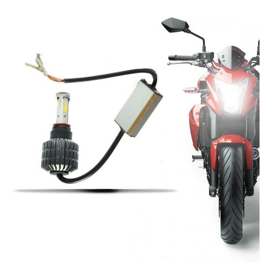 Lâmpada Super Led Moto 3d Headlight H4 6000k 9v E 16v