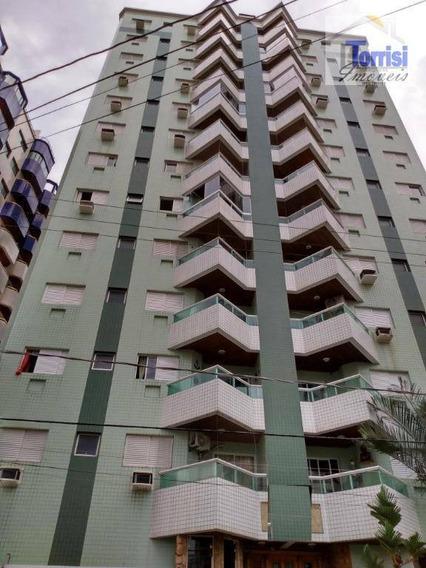 Apartamento Em Praia Grande Vista Mar, 02 Dormitórios Sendo 01 Suite, Aviação, Ap2331 - Ap2331