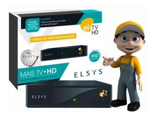 Cadastro Atualização Habilitação Oi Tv Hd Livre Elsys Bedin