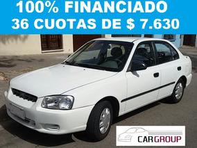 Hyundai Accent 1.3´01 100% Financiado En 36 Cuotas De $ 7630