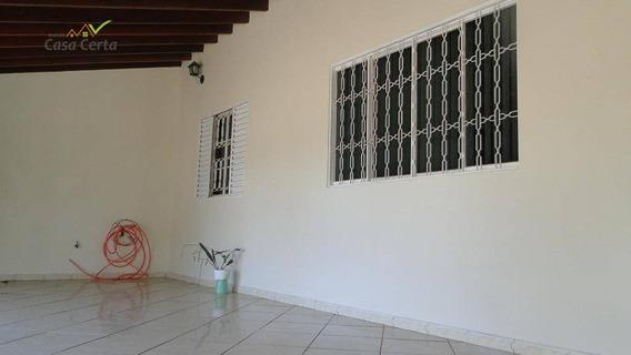 Casa Comercial Para Venda E Locação, Jardim Santa Marta, Mogi Guaçu. - Ca1042
