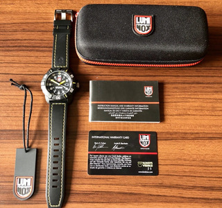 Reloj Luminox Coronado 3025 Completo Impecable