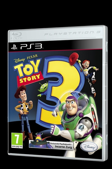 Toy Story 3 The Video Game Ps3 - Leia Descrição