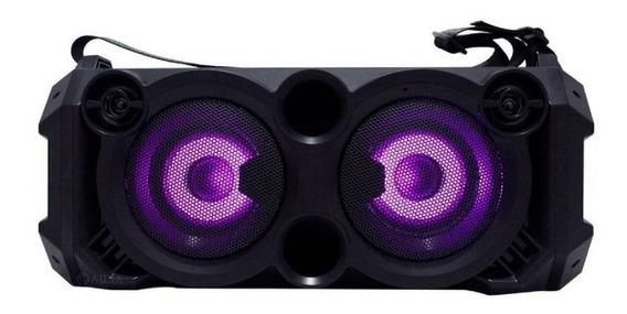 Caixa De Som Bluetooth Com Microfone Sem Fio Controle D-k04