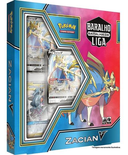 Card Game Pokémon Baralho Batalha De Liga Zacian V