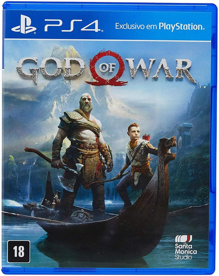 God Of War Novo Dublado Ps4 - Mídia Física Lacrado Original