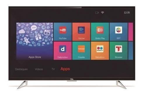 Smart Tv 43 Polegadas Tcl L43s4900fs Tela Quebrada