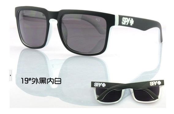 Óculos Esportivo Preto E Branco Uv-400