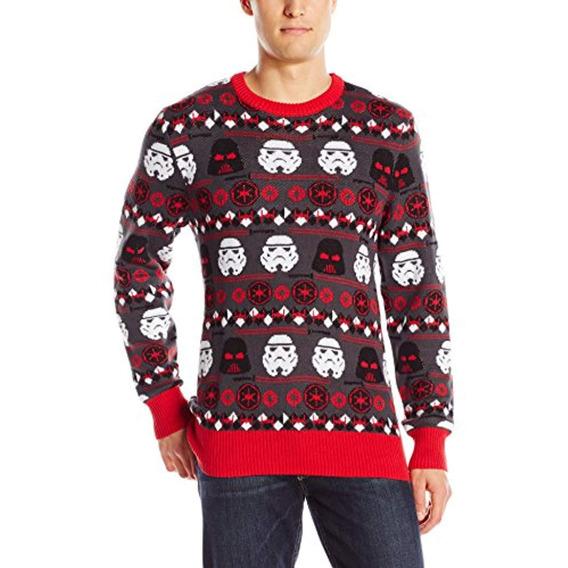 Suéter De Fiesta Para Hombre Star Wars, Gris, X-large