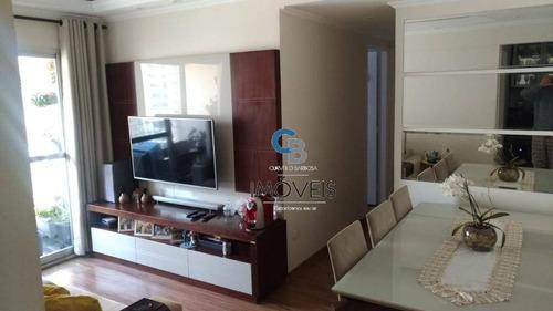 Imagem 1 de 30 de Apartamento À Venda, 57 M² Por R$ 410.000,00 - Vila Carrão - São Paulo/sp - Ap6729