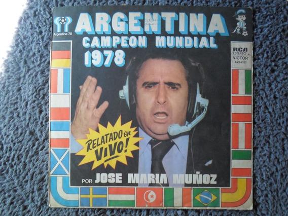 Disco Vinilo Los Goles Del Mundial 78