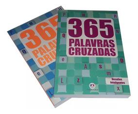 365 Palavras Cruzadas - Vol. 1 E 2 - Nível Médio