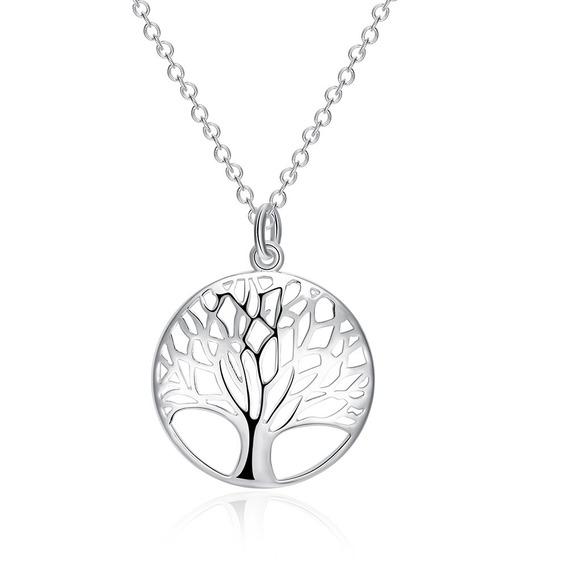Gargantilha Feminina Presente Filha Namorada Árvore Vida 22