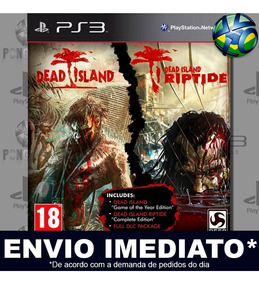 Dead Island Game Of The Year + Riptide Dlc Ps3 Midia Digital