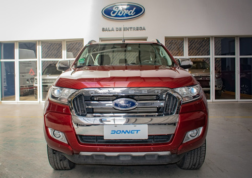 Ford Ranger Limited 3.2l At 4x4 Modelo 2016