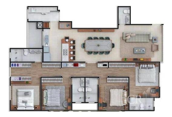 Apartamento Residencial Em Balneário Camboriú - Sc - Ap0043_crim