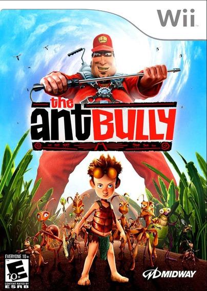 Jogo Lacrado Midia Fisica The Ant Bully Nintendo Wii