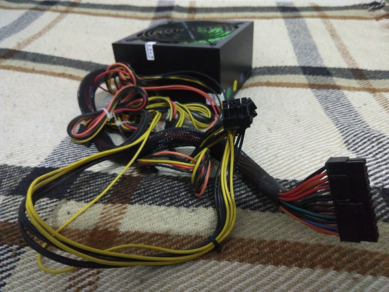 Fonte Atx 600 Watts Potência Real One Power Mp600w2 Bivolt