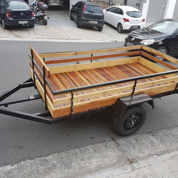 Carreta Fazendinha 2,5x1,30 R$3490,00 - 700 Kg 12x
