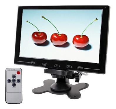 Monitor Vehiculo Boton Tactil Ultrafino 9.0 Cr Negro
