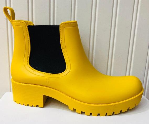 Bota De Lluvia. Amarilla