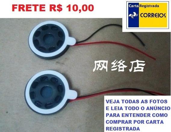 Mini Alto Falante 15mm 1w 8ohm Tablet,pc,mp3