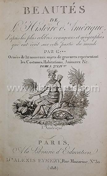 Livro Raro Antigo -beautés De L