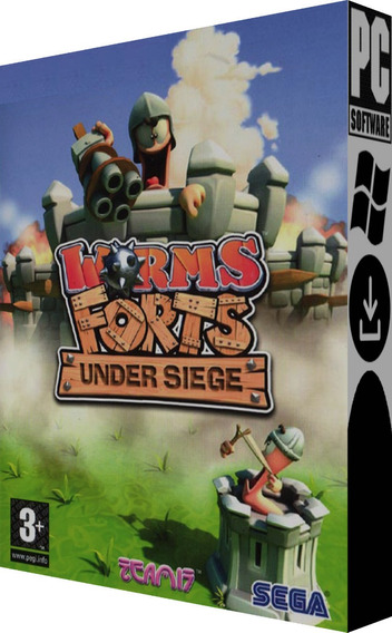 Worms Forts: Under Siege - Pc - Digital