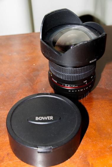 Lente Grande Angular Para Canon Bower 14mm F/2.8 (usada)