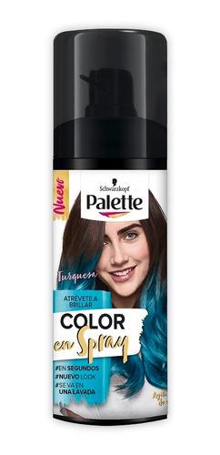 Retoca Raices Palette Turquesa En Spray X 120ml