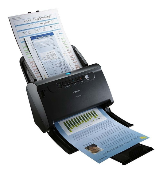 Scanner Canon Dr-c240 - A4 - 45ppm - 600dpi - C/ Nota Fiscal