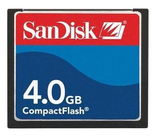 Cartão de memória SanDisk SDCFB-4096-A10 4GB