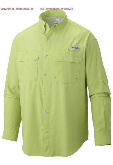 Camisa Columbia Tamiami Mangas Largas Hombre El Combatiente