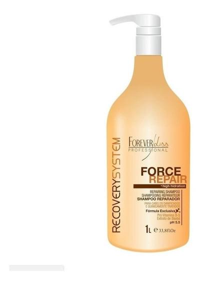 Shampoo Reparador Force Repair - Forever Liss - 1l - Obeleza