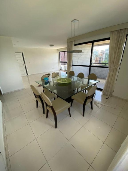 Apartamento Em Jaqueira, Recife/pe De 160m² 4 Quartos Para Locação R$ 4.600,00/mes - Ap527854