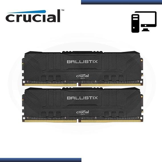 Memoria Udimm Crucial Ballistix 16gb Kit (2x8gb) Ddr4-2666 B