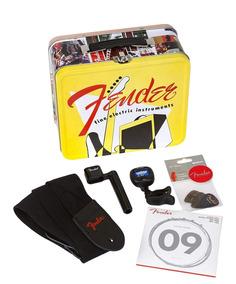 Fender Kit Palhetas Afinador Corda Correia Enrolador Retro