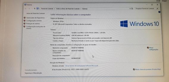 Computador Desktop Cpu Core I3, 4gb, 500gb Dvd