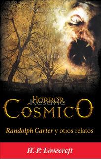 Libro H.p Lovecraft Horror Cósmico En Español Cuentos Relato