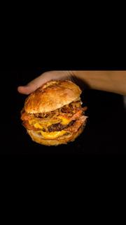 Burger Pretzel